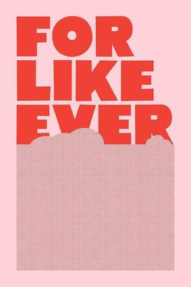 For Like Ever Print - Pink/Red