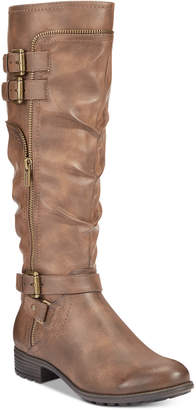 White Mountain Remi Riding Boots, Created for Macy's Women's Shoes