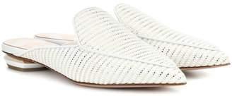 Nicholas Kirkwood Beya raffia loafers
