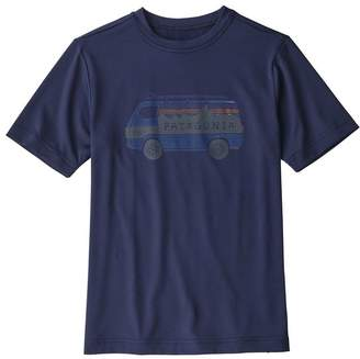 Patagonia Boys' Capilene® Silkweight Graphic Tee