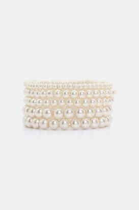 Ardene Pack of Pearl Bracelets