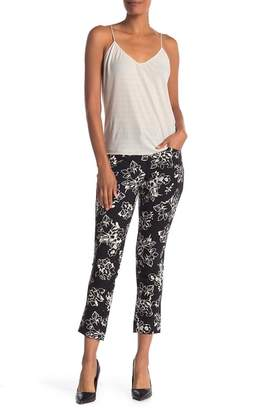 Foxcroft Rachel Stretch Print Crop Pants