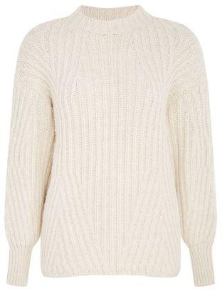 Topshop Deflected rib sweater