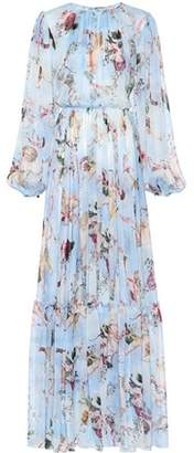 Dolce & Gabbana Printed silk chiffon jumpsuit