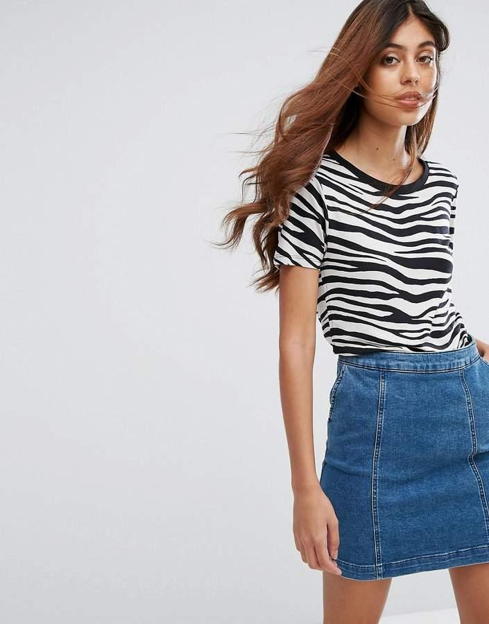 Oasis Zebra Print T-Shirt