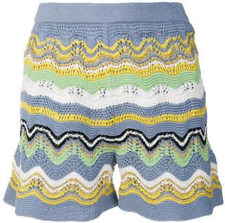 M Missoni striped shorts