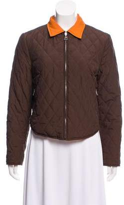 Hermes Reversible Quilted Jacket