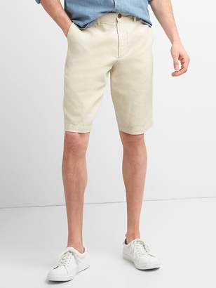 """12"""" Chino Shorts in Cotton-Linen"""