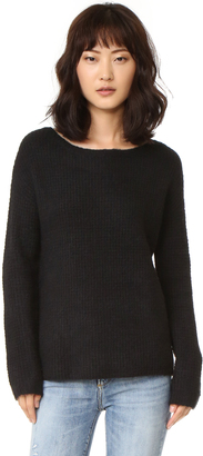 BB Dakota Vale Fuzzy Sweater $95 thestylecure.com