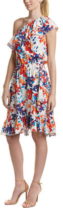 Parker Beverly Silk Midi Dress