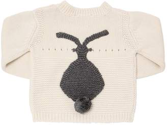 Stella McCartney Bunny Organic Cotton Blend Sweater