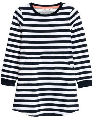 H&M Sweatshirt Dress - Blue