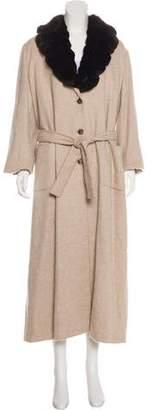 Kiton Cashmere Long Coat