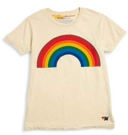 Aviator Nation Little Kid's& Kid's Rainbow Tee