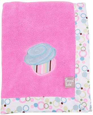 Trend Lab TREND LAB, LLC Cupcake Receiving Blanket