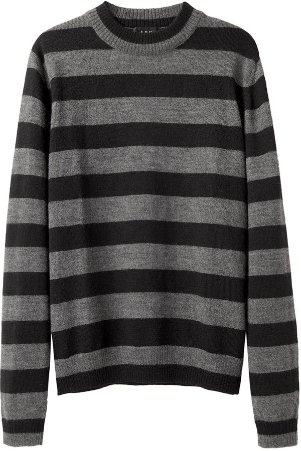 A.P.C. Retro Striped Sweater