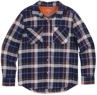 Butter Super Soft Plaid Flannel Shirt (Big Girls)