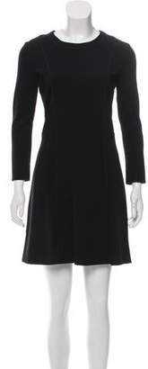 3.1 Phillip Lim Long Sleeve A-Line Dress