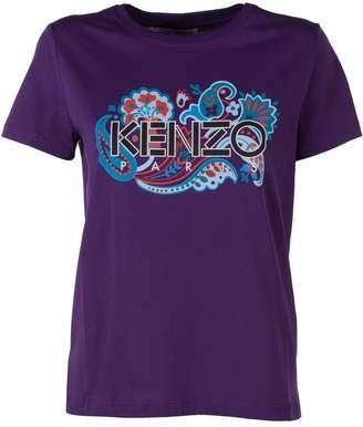 Kenzo Logo Printed T-shirt