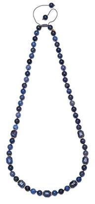 Lola Rose Women Blue Coral Quartz Strand Necklace of Length 80cm 690003