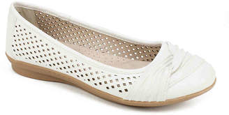 White Mountain Cliffs by Harlyn Ballet Flat - Women's