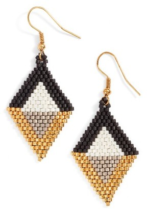 Women's Elise M Seed Bead Drop Earrings $20 thestylecure.com
