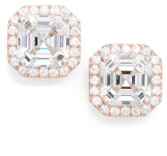 Women's Nordstrom Cubic Zirconia Stud Earrings $99 thestylecure.com