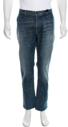Rogan Cropped Five Pocket Bootcut Jeans w/ Tags