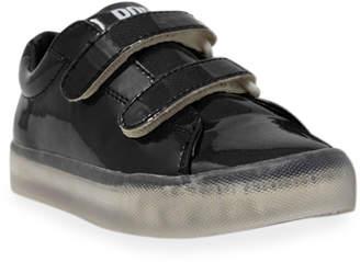 Pop Shoes EZ Safety Metallic Light-Up Sneakers, Toddler/Kids