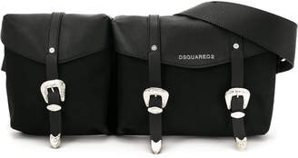 DSQUARED2 buckled shoulder bag