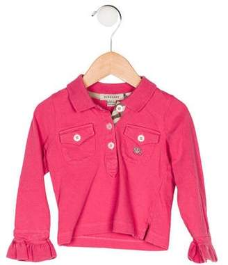 Burberry Girls' Collared Top