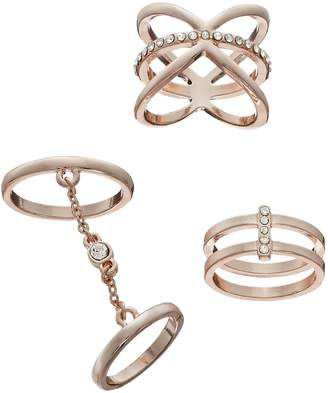 Mudd Chain, Double Row & X Ring Set