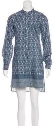 Nili Lotan Mini Shirt Dress
