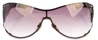 Gucci Rimless Aviator Sunglasses