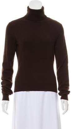 Ralph Lauren Rib-Knit Turtleneck Sweater