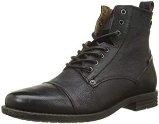 Levi's Footwear and Accessories Men's Emerson Biker Boots, (Medium Brown 27)