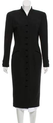 Thierry Mugler Long Structured Coat