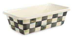 Mackenzie Childs MacKenzie-Childs Courtly Check? Enamel Loaf Pan