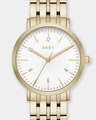 DKNY Minetta Gold-Tone Analogue Watch
