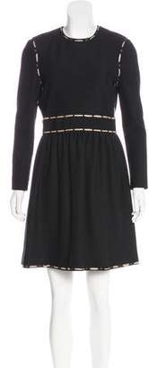 Lanvin Wool A-Line Dress w/ Tags