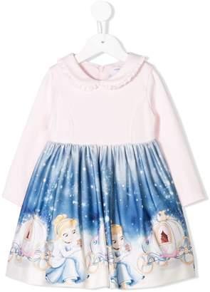 MonnaLisa Cinderella print dress