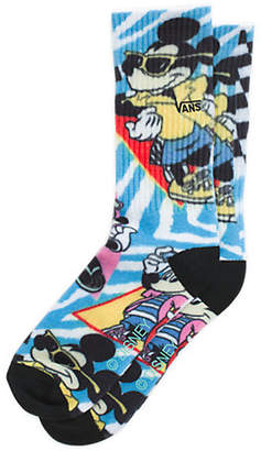 Disney x Vans Mickey Mouse's 90th Boys Crew Sock