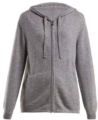 Derek Rose Finley Hooded Cashmere Sweater - Womens - Grey