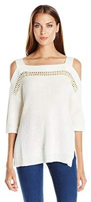 Ella Moss Women's Jordin Knit Blouse,Medium