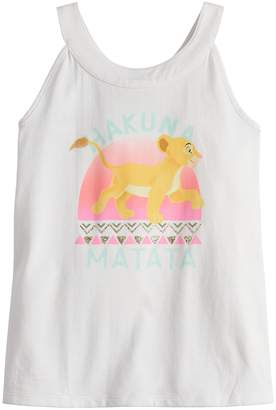 Simba Disneyjumping Beans Disney's The Lion King Girls 4-12 Tank Top by Jumping Beans