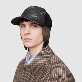 Gucci Baseball hat with frame print