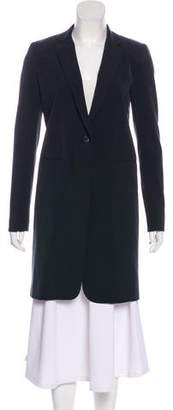 Nomia Notched-Lapel Knee-Length Coat w/ Tags