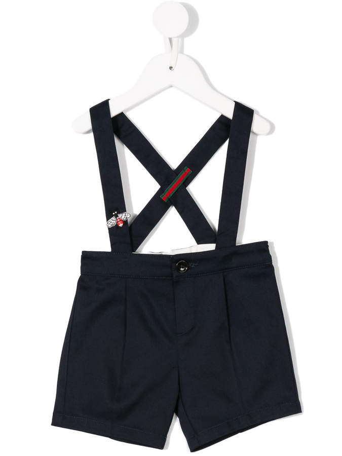 Gucci Kids Shorts mit Hosenträgern