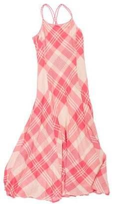 Polo Ralph Lauren Girls' Plaid Print Dress