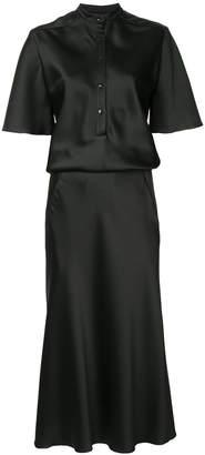 CHRISTOPHER ESBER flared midi shirt dress